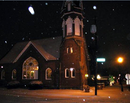 Since 1895, the bell tower at the Sanctuary in Gahanna lived in the dark each night.
