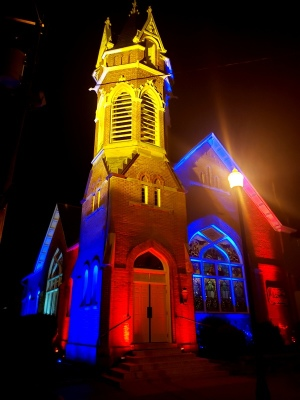 Lights on Gahanna Sanctuary